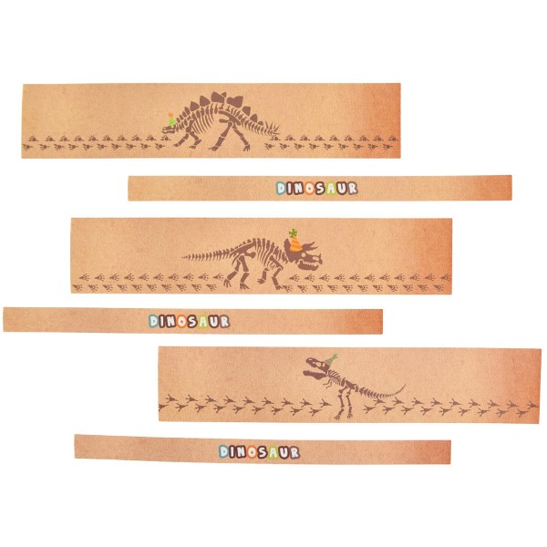 Dinosaur Mini-Bottle Labels 6pcs