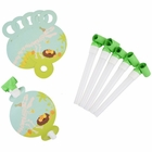 Dinosaur Party Horn Blowers 6pcs