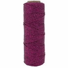 ECO Bakers Twine 55YD 11Ply Solid Metallic Fuchsia