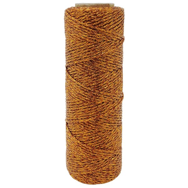 ECO Bakers Twine 55YD 11Ply Solid Metallic Orange