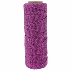 ECO Bakers Twine 55YD 11Ply Solid Metallic Raspberry