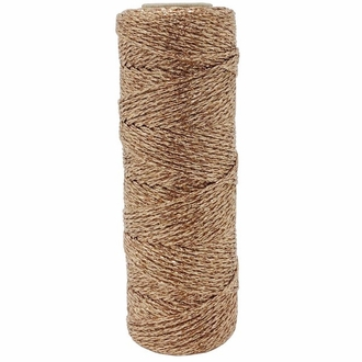 ECO Bakers Twine 55YD 11Ply Solid Metallic Rose Gold