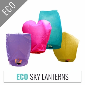 ECO Wire-free Sky Lanterns