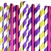 Fairytale Paper Straw Decorating Kit