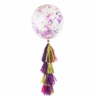 Fairytale Tassel Confetti Balloon Decorating Kit