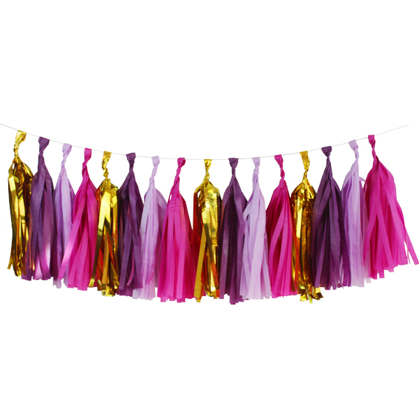 Fairytale Tassel Garland Decorating Kit