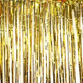 Foil Fringe Curtain Backdrop