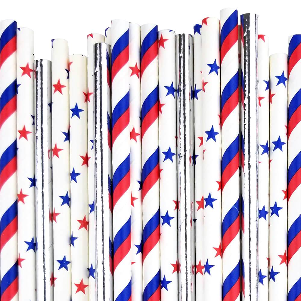 Freedom Paper Straw Decorating Kit