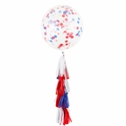Freedom Tassel Confetti Balloon Decorating Kit