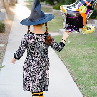 CLEARANCE Halloween Witch Foil Mylar Balloon