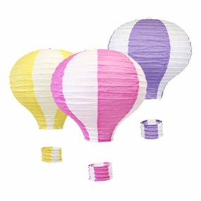 Hot Air Balloon Paper Lanterns