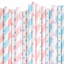 It's a Baby Paper Straw Decorating Kit