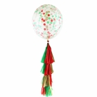 Jingle Bells Tassel Confetti Balloon Decorating Kit