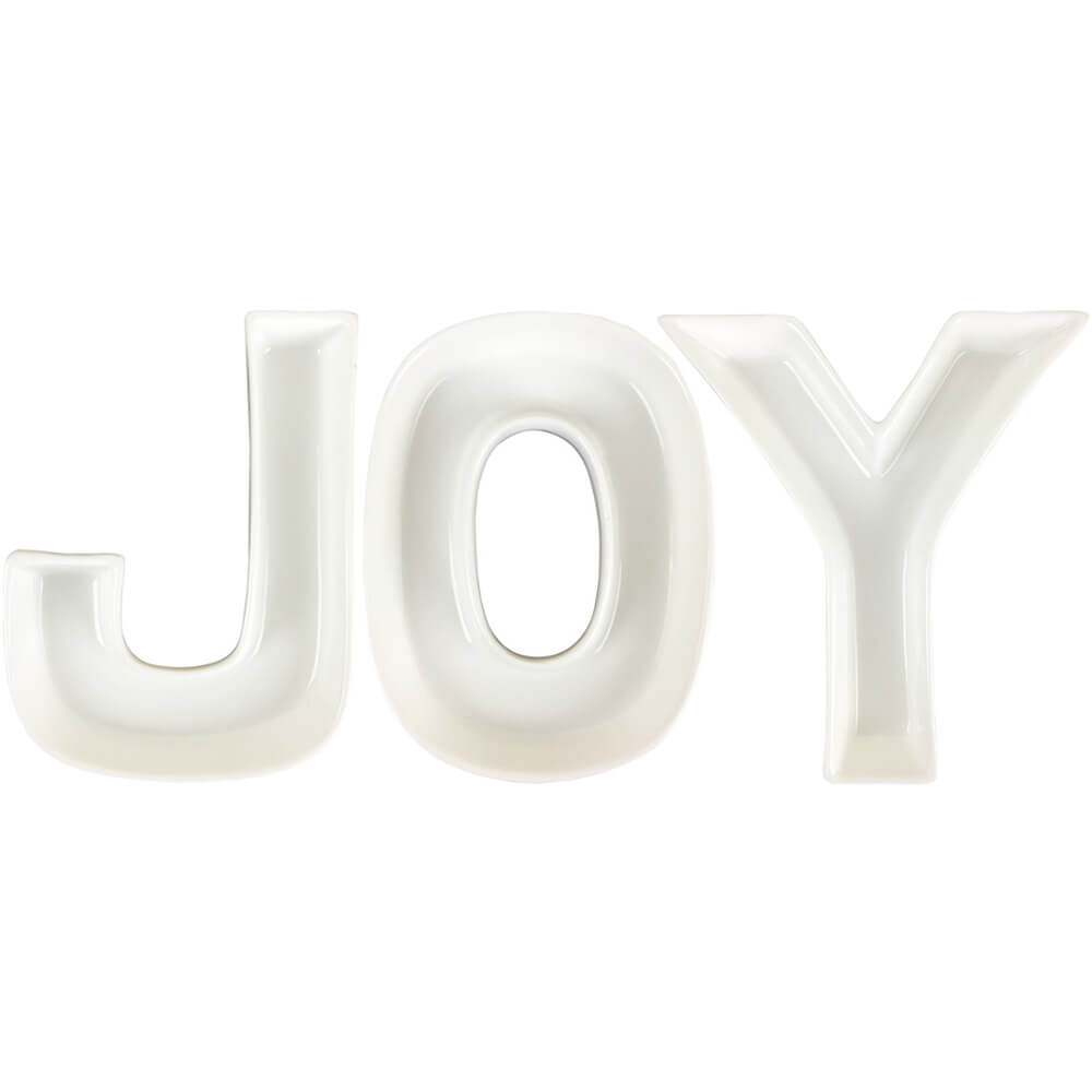JOY Ceramic Letter Dish Decorating Kit