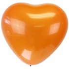 "Jumbo 24"" Orange Heart Latex Balloon"