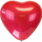 "Jumbo 24"" Red Heart Latex Balloon"