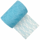Lace Fabric Roll 6in Powder Blue