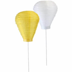 LED Torch Silk Lanterns