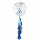 Little Boy Blue Tassel Confetti Balloon Decorating Kit