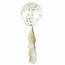 Love Story Tassel Confetti Balloon Decorating Kit