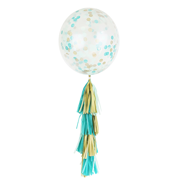 Mintage Tassel Confetti Balloon Decorating Kit