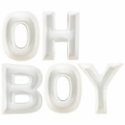 OH BOY Ceramic Letter Dish Decorating Kit