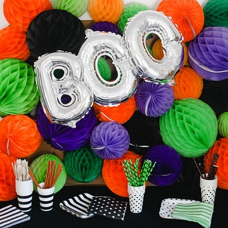 CLEARANCE Paper Straws 25pcs Witches Cauldron