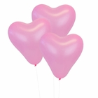 Pink 12 inch Heart Latex Balloon 100pcs