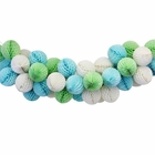 Rock a Bye Blue Honeycomb Ball Decorating Kit