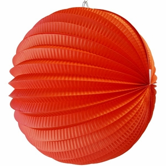"Round Accordion 12"" Paper Lantern Fruit Punch"