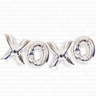 "Silver XOXO 16"" Foil Balloon Decorating Kit"