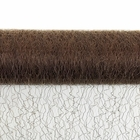 CLEARANCE Sisal Mesh Fabric Roll 20in x 5 yards Chocolate