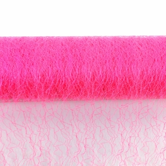 CLEARANCE Sisal Mesh Fabric Roll 20in x 5 yards Hot Pink
