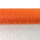 Sisal Mesh Fabric Roll 20in x 5 yards Orange