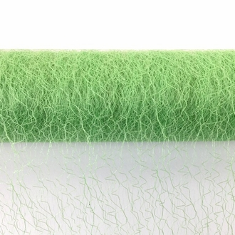 CLEARANCE Sisal Mesh Fabric Roll 20in x 5 yards Palm Green