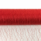 Sisal Mesh Fabric Roll 20in x 5 yards Red