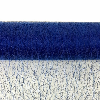 Sisal Mesh Fabric Roll 20in x 5 yards Royal Blue