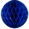 Tissue Paper Honeycomb Ball 4inch Blueberry