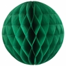 Tissue Paper Honeycomb Ball 4inch Emerald Green