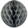 Tissue Paper Honeycomb Ball 4inch Grey
