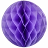 Tissue Paper Honeycomb Ball 4inch Lilac