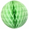 Tissue Paper Honeycomb Ball 4inch Mint