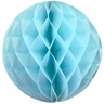 Tissue Paper Honeycomb Ball 4inch Sky Blue