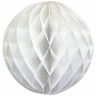 Tissue Paper Honeycomb Ball 4inch White