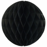 Tissue Paper Honeycomb Ball 6inch Black