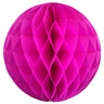 Tissue Paper Honeycomb Ball 6inch Magenta
