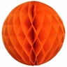 Tissue Paper Honeycomb Ball 6inch Orange