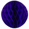 Tissue Paper Honeycomb Ball 6inch Royal Purple