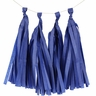 Tissue Paper Tassel Kit 4 Tassels Royal Blue
