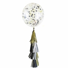 Tuxedo Tassel Confetti Balloon Decorating Kit